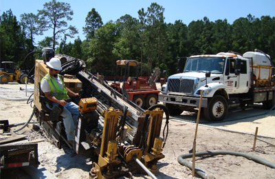 Directional drilling - general contracting services Southeast U.S.